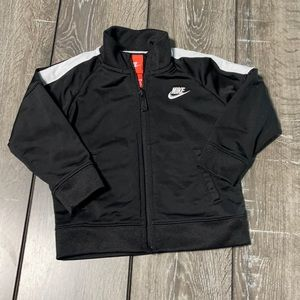 Nike Black and White Track Jacket Size 18 Months
